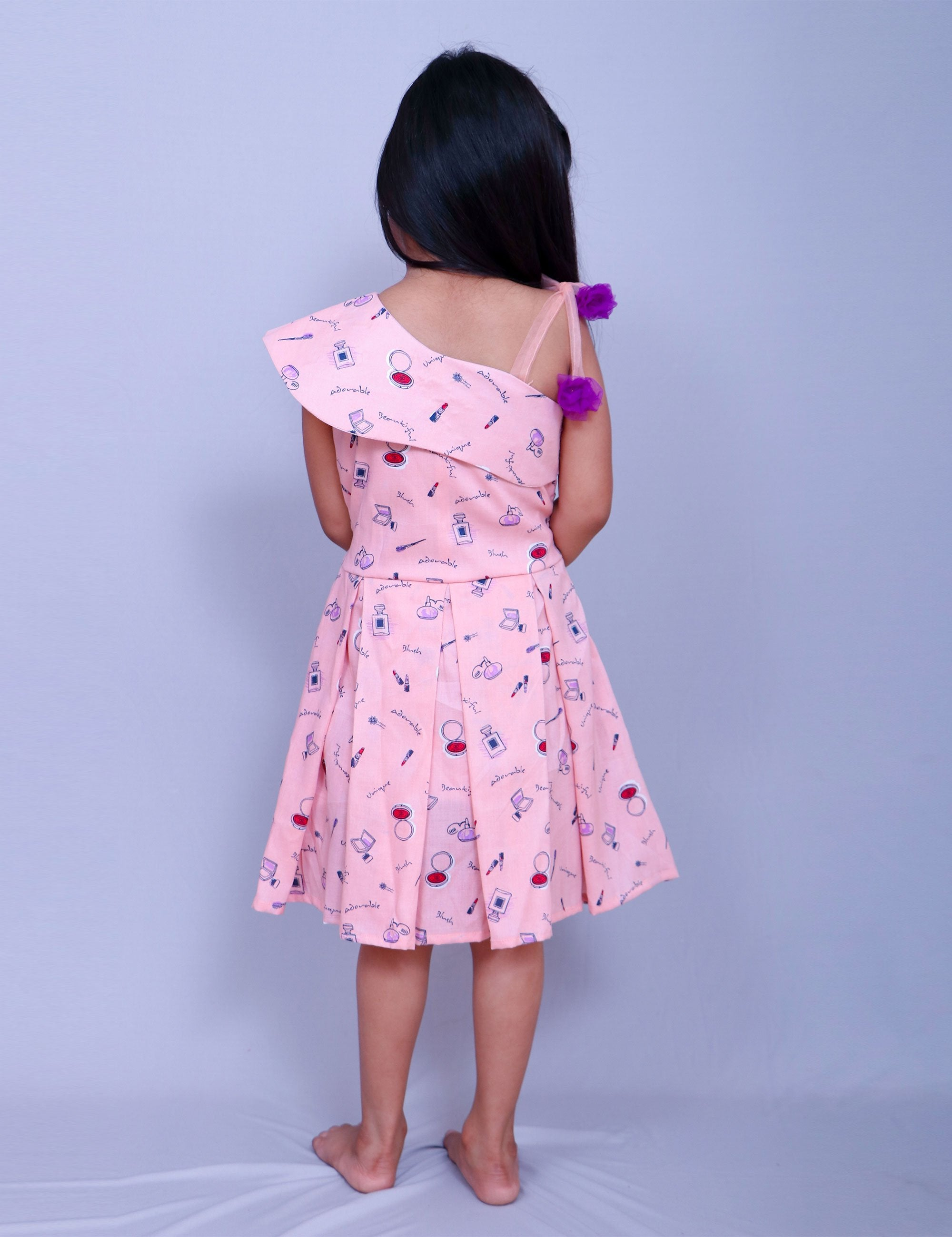 Off Shoulder Frock for Girls