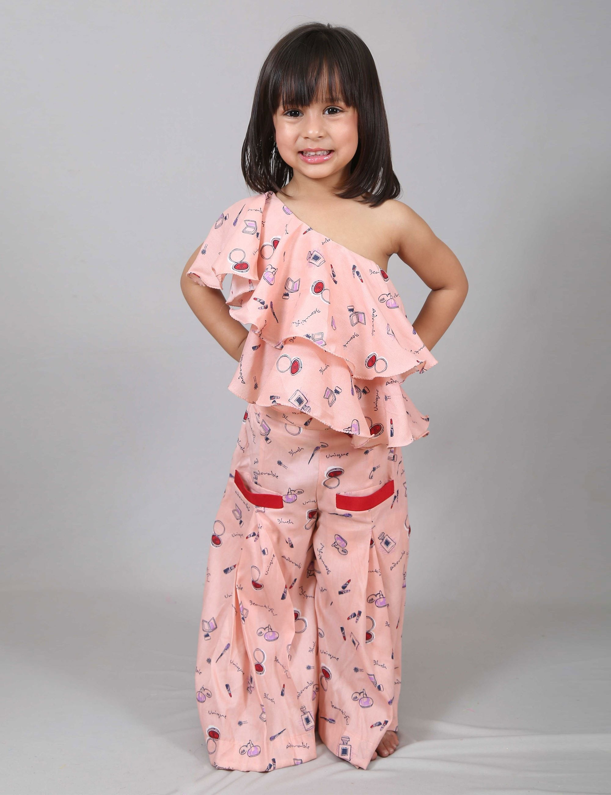 Pleated Palazzo for Girls