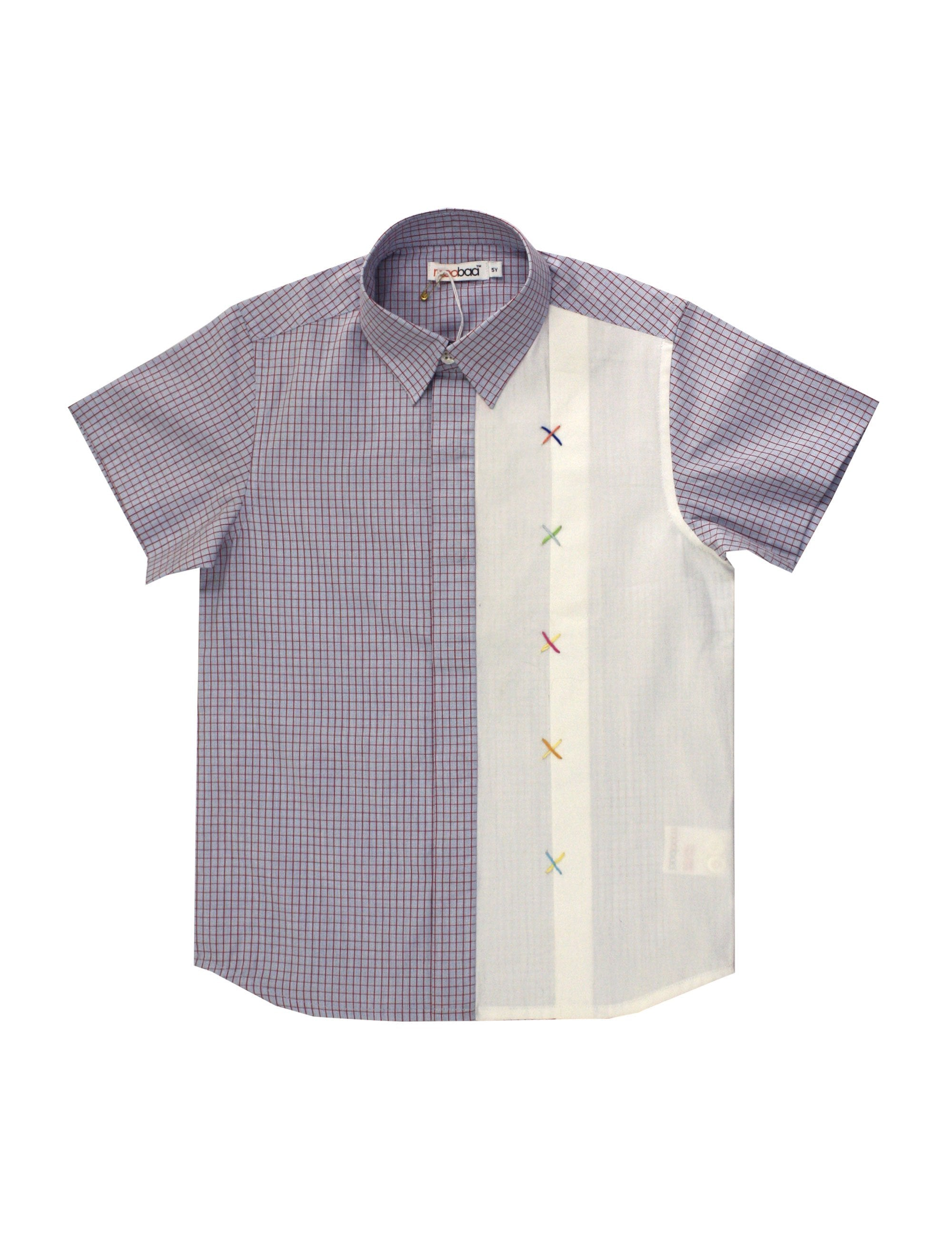 Parker Shirt in Purple Colour for Boys