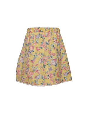 Surf Skirt in Yellow Colour for Girls