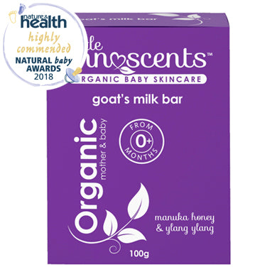 Little Innoscents Certified Organic Baby Soap Bar