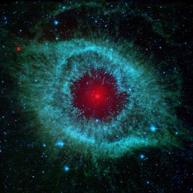Eye God Helix Nebula