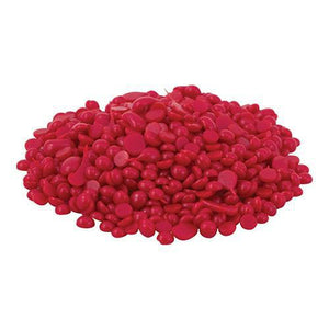 Bottle Wax Beads - Holiday Red