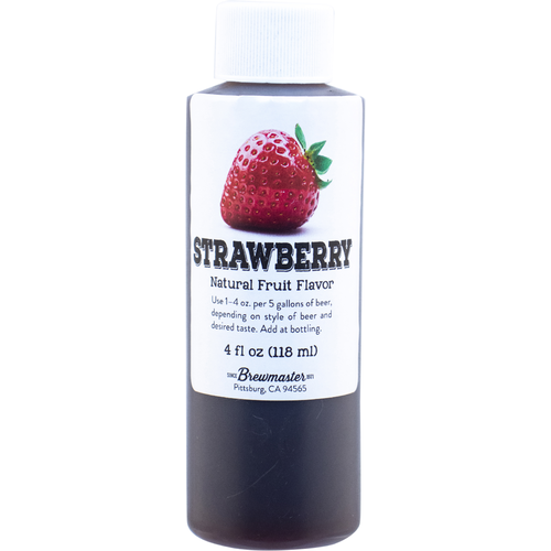 Strawberry Natural Flavoring - 4 oz