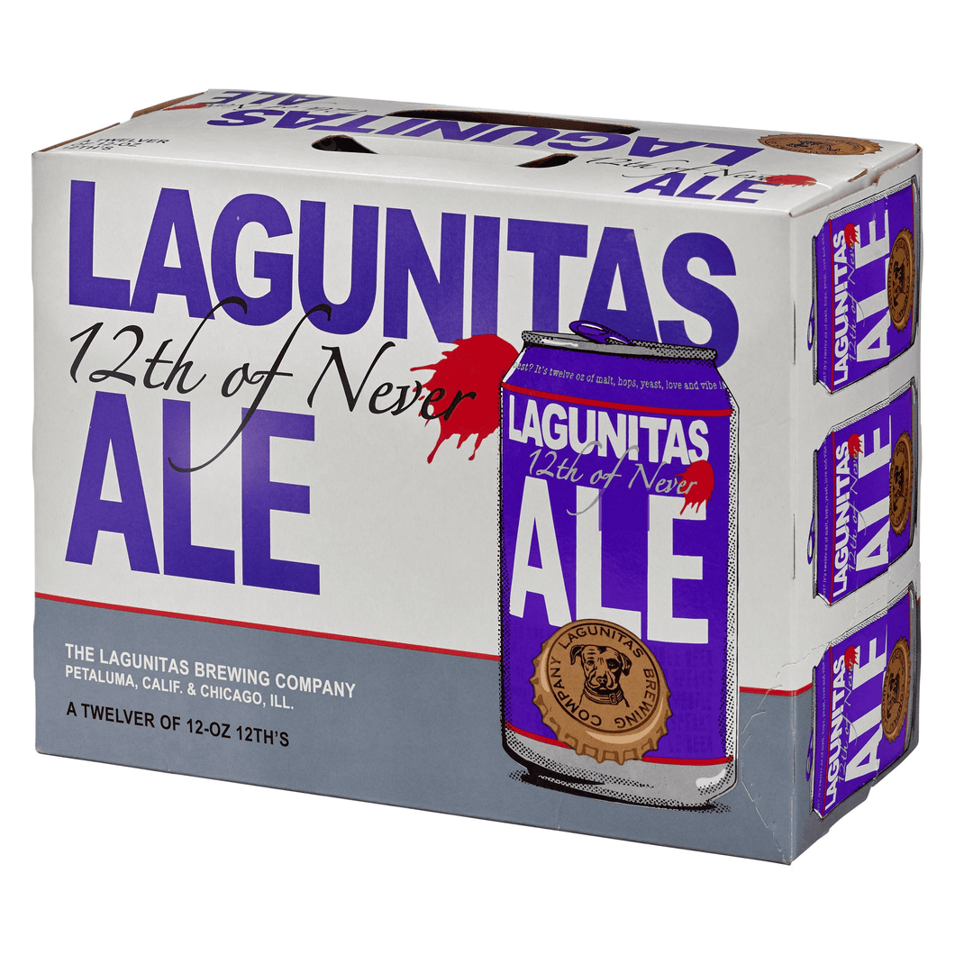 Lagunitas 12th of Never - 12 pack