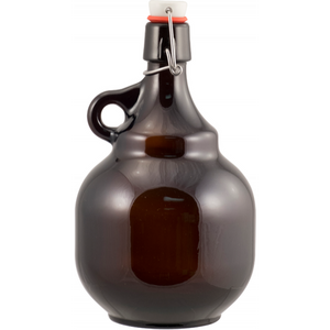 "2L swing top ""Pot-Bellied"" Growler - Cannonball Growler"