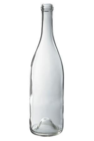 750 mL Flint Burgundy Wine Bottle - Each