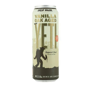 Great Divide - Vanilla Oak Aged Yeti 19.2oz can