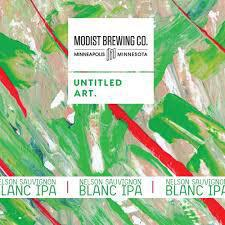 Nelson Sauvignon Blanc IPA - Untitled Art Brewing - 16 oz can