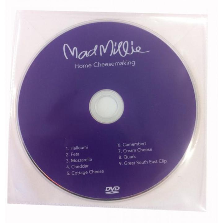 Mad Millie Cheese Making DVD