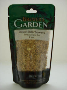 Dried Elderflowers - 2 oz