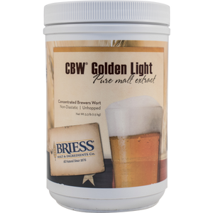 Golden Light Liquid Malt Extract - 3.3 LB jar LME