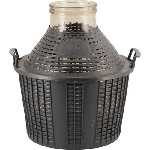 Glass Demijohn - Wide Mouth - 4 Gal (15L)