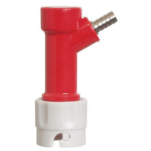 "Pin Lock - Gas in 1/4"" barb"