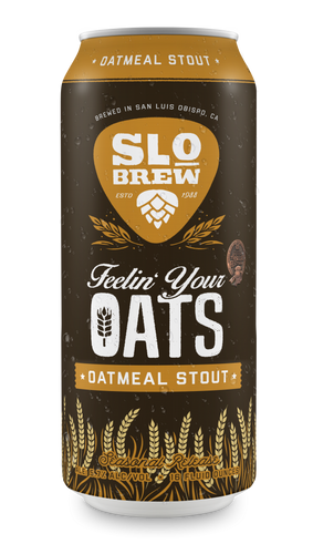 SLO Brewing Feeling Your Oats Stout - 16 oz can