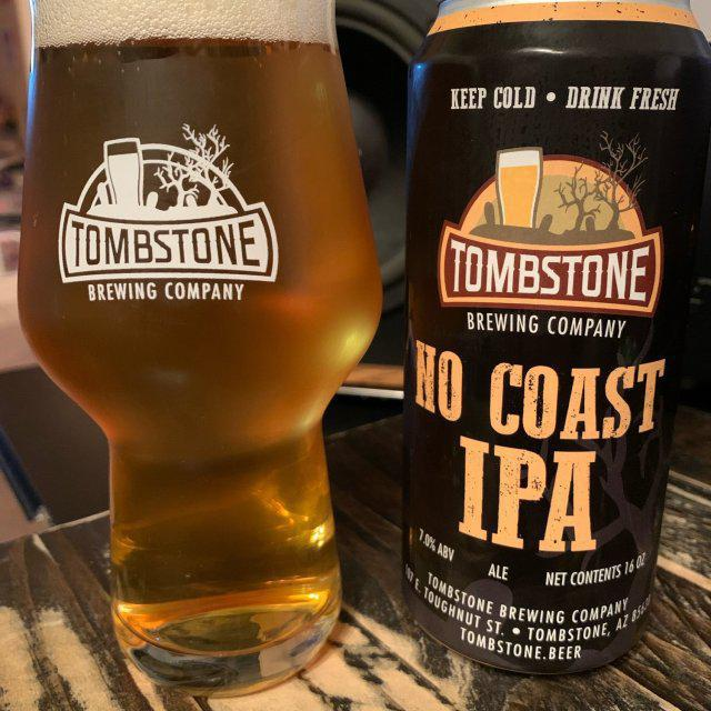 No Coast IPA - Tombstone Brewing co - 16 oz can