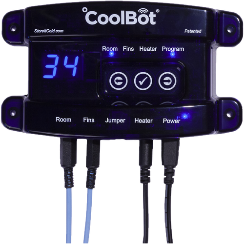 CoolBot Walk-in Cooler Controller for air conditioning