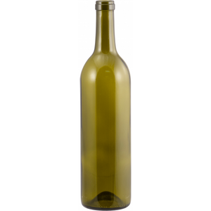750 mL AG (Brown Green) Claret Wine Bottle - Each
