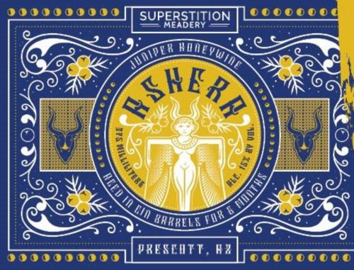 Ashera Mead - Superstition Meadery - 375 ml bottle