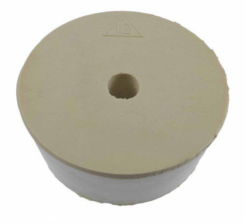 #12 Drilled Rubber Stopper