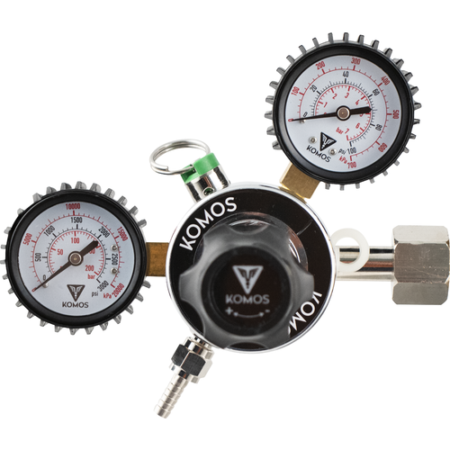 Dual gauge Regulator - KOMOS
