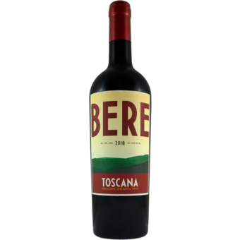 Bere Rosso - 750 ml bottle