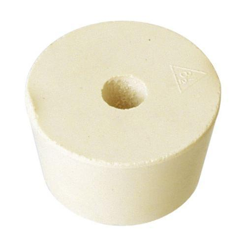 #8 1/2 Drilled Rubber Stopper