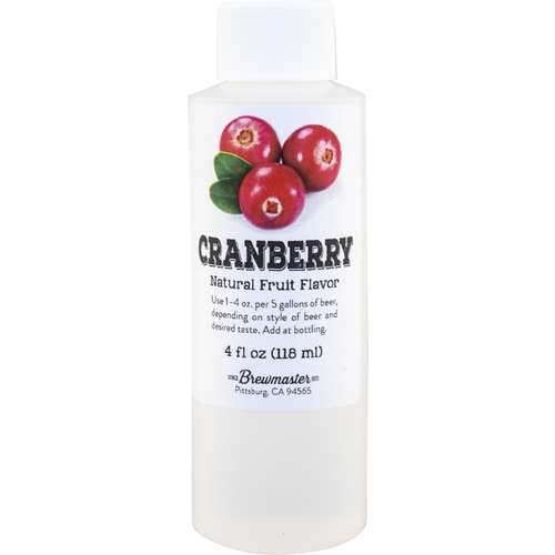 Cranberry Natural Fruit Flavoring - 4 oz