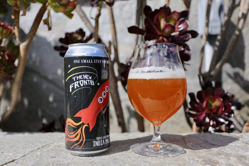 The New Frontier Triple IPA - Connecticut Valley Brewing - 16 oz can