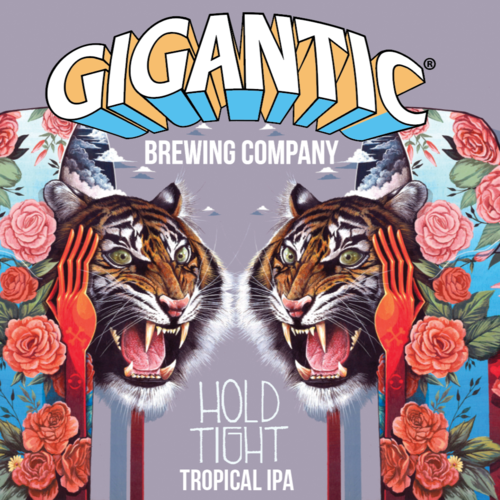 Hold Tight Tropical IPA - Gigantic Brewing Co - 500 ml bottle