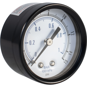 Low pressure Gauge 0-15 PSI