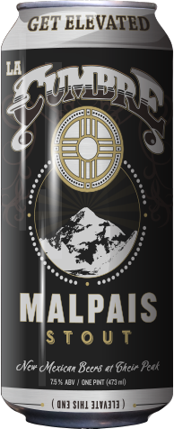 La Cumbre Malpais Stout 16 oz can