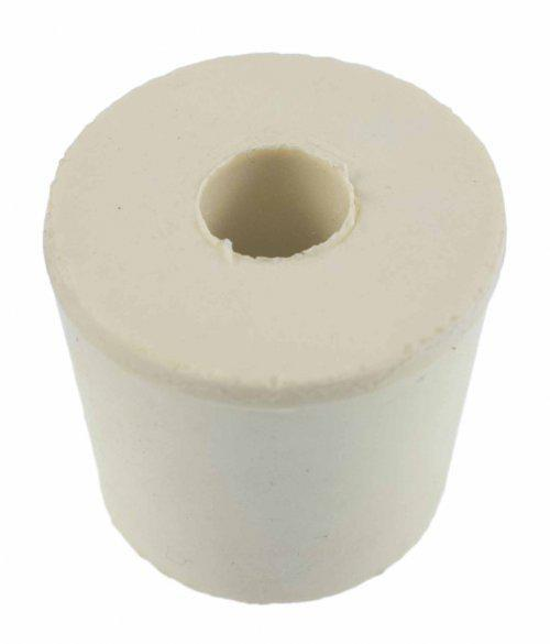 #5 1/2 Drilled Rubber Stopper