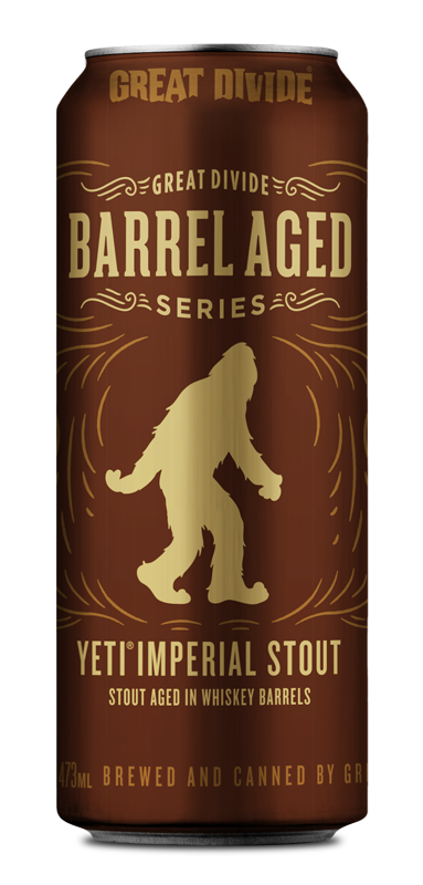 Barrel Aged Yeti - 16 oz cans