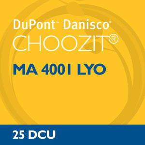 Choozit MA 4001 LYO 5 DCU - Mesophilic cheese culture - 3g