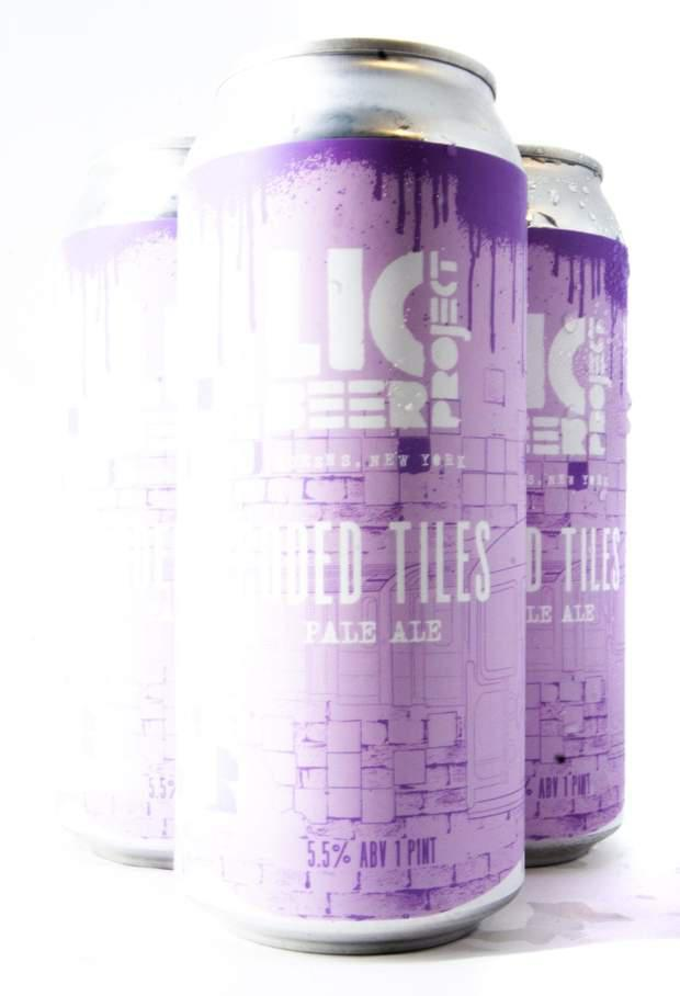 Coded Tiles Pale Ale - LIC Beer Project - 16 oz
