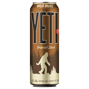 Yeti Imperial Stout - Great Divide Brewing - 19.2 oz can