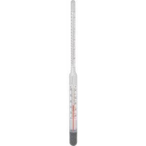 Hydrometer 3 scale with correction scale thermometer