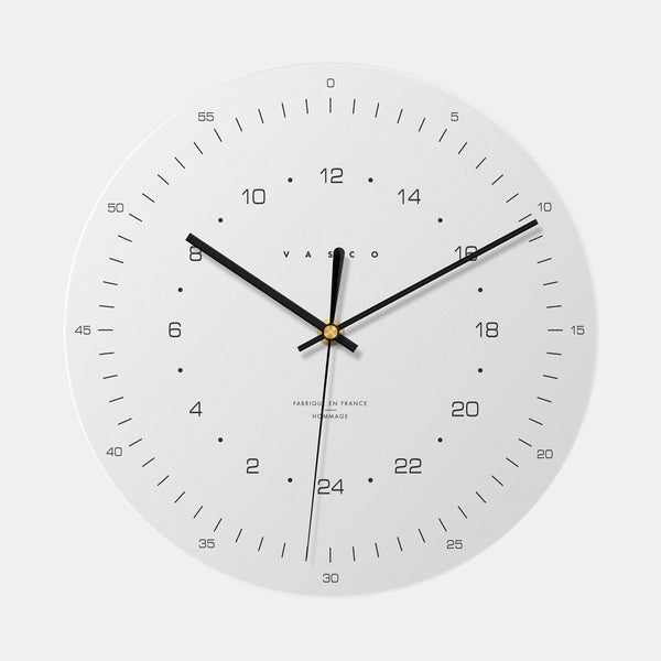 Hommage à Dieter Rams  - VASCO WATCH - Horloge - 24h Clock