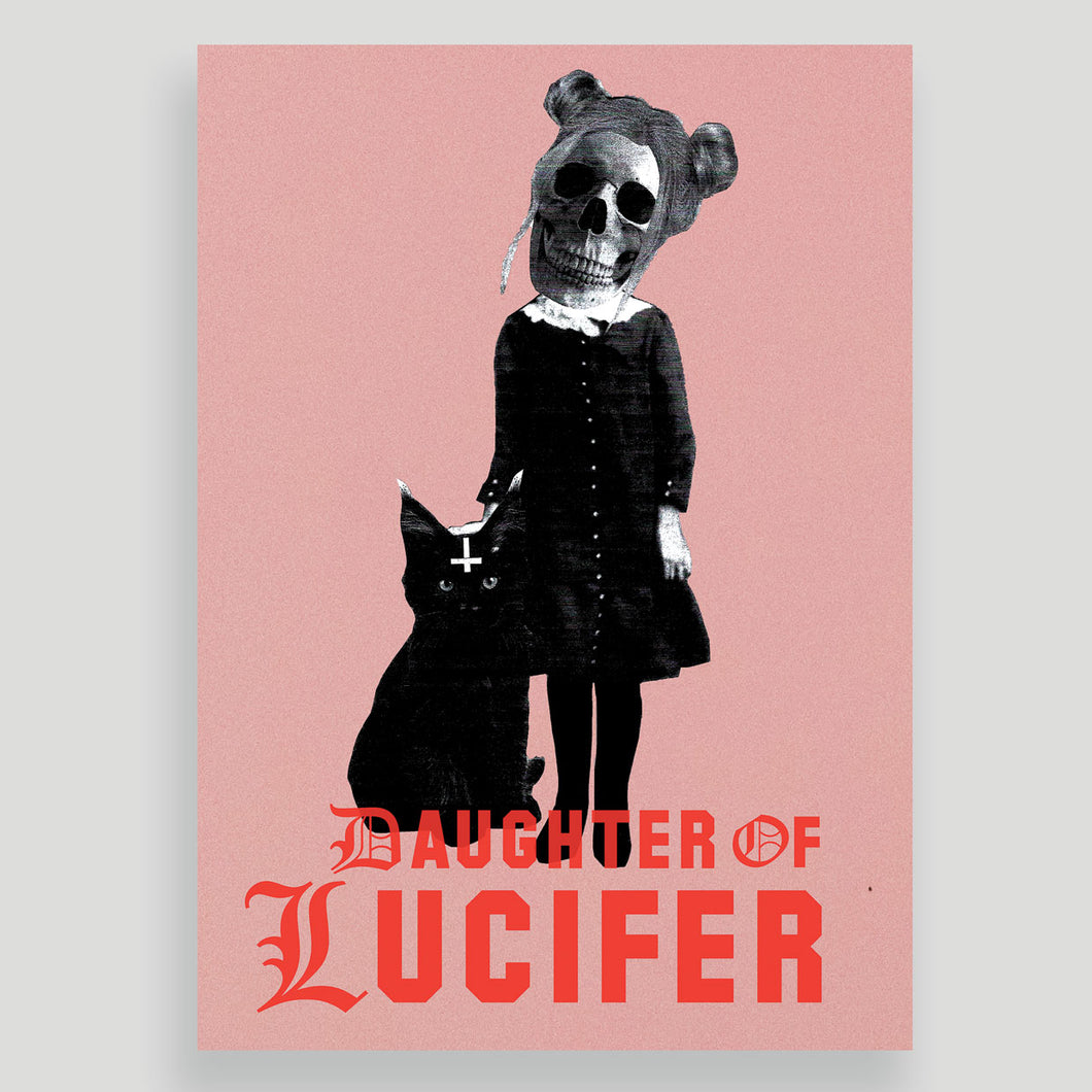 Ltd Edition Daughter of Lucifer A3 Art Print (Signed, Numbered)