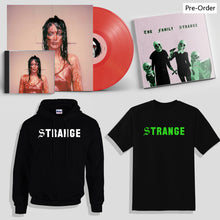 The Family Strange Super Deluxe Bundle - Signed Vinyl, Signed CD, Signed Zine, patch, T-Shirt & Hoodie