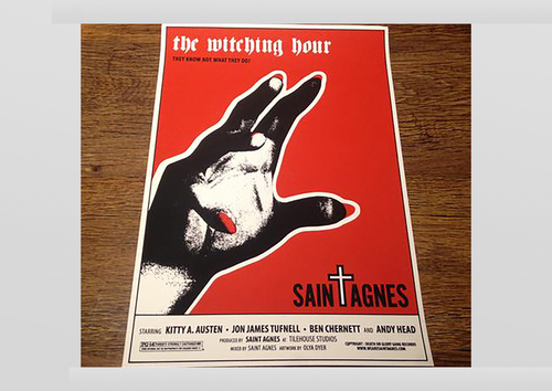 The Witching Hour Screenprint