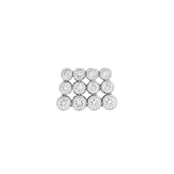Magic Number 12 Diamond Earring