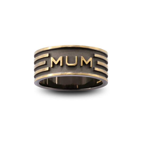 Alpha 'Mum' Ring