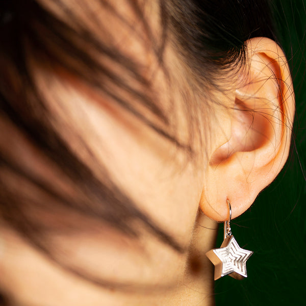 24:7 Star Earrings
