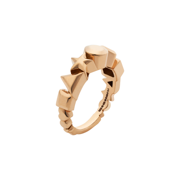 A.D.O.R.E. rose gold ring