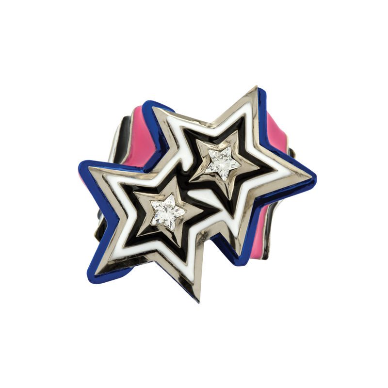 Poptails Bi-Star Ring