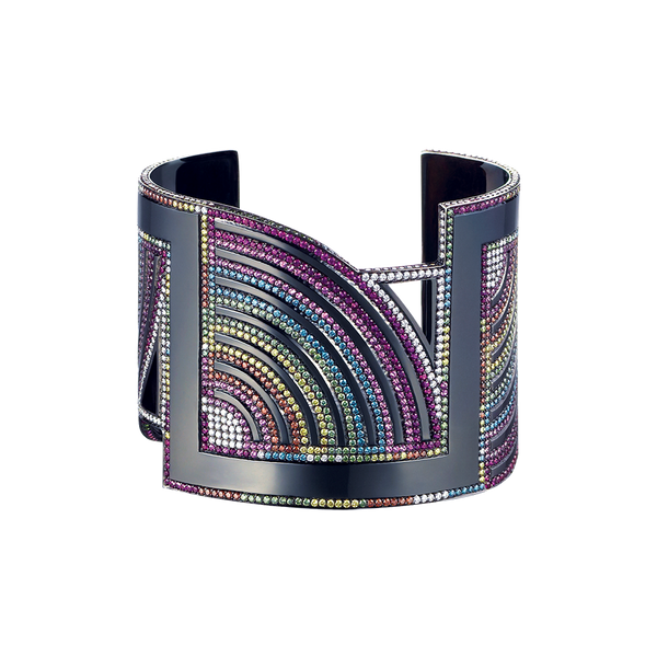 Black Rainbows Cuff