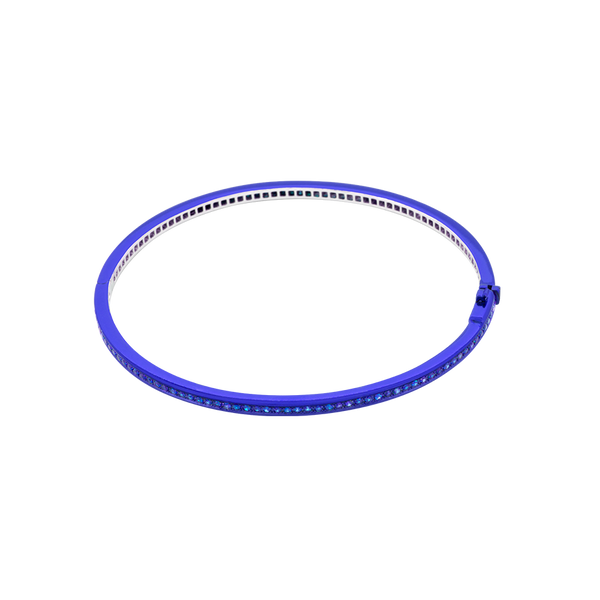 Chromantic Sapphire Bangle
