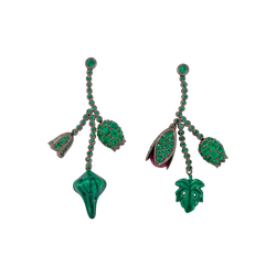 Chlorophyll Clusterbud Earrings